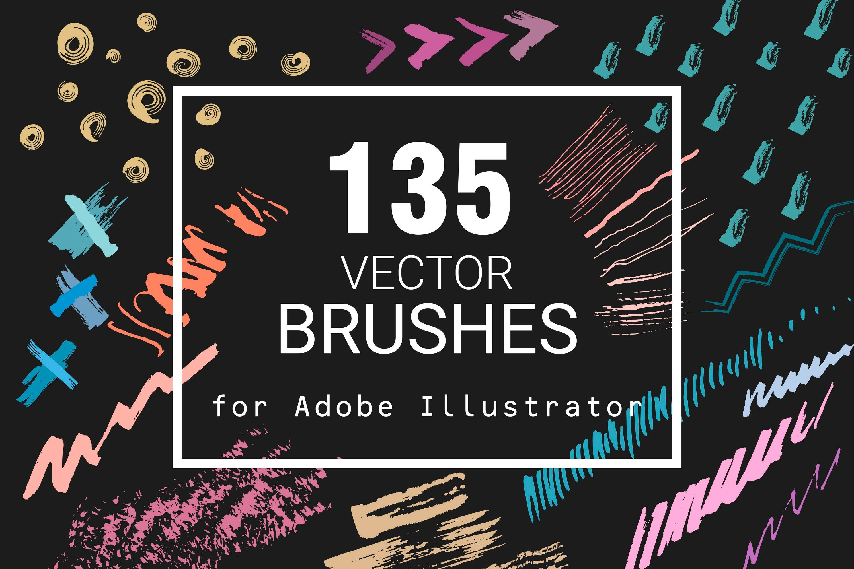 Vector Adobe Illustrator Brushes Artistic Brushes Ink