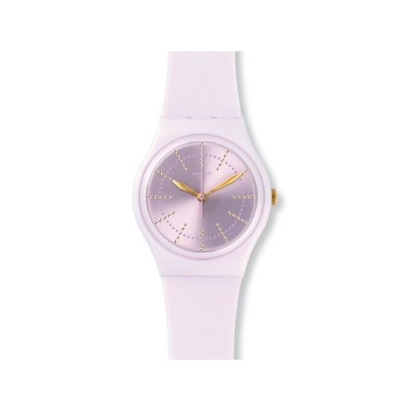 Reloj Swatch Mujer Guimauve GP148. Reloj de plástico blanco. f8326ebc5a4f