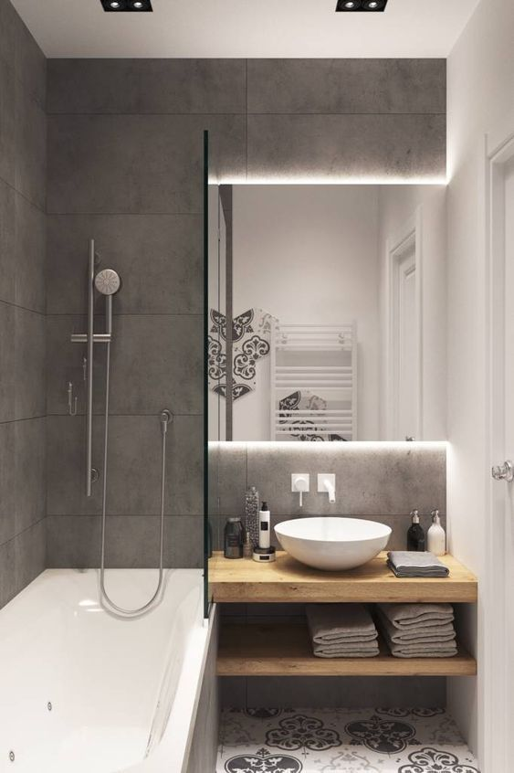 Photo of 10 small bathroom ideas Hd. Minimalist living spaces