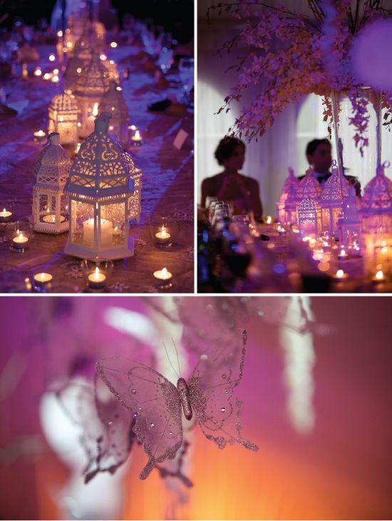 Big Wedding Wedding Moroccan Lantern Centerpieces Year Ago