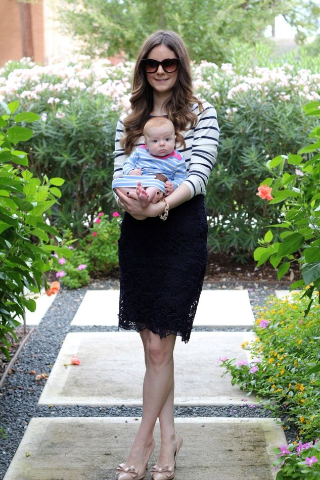 Veronika's Blushing: Mommy + Baby in Boden
