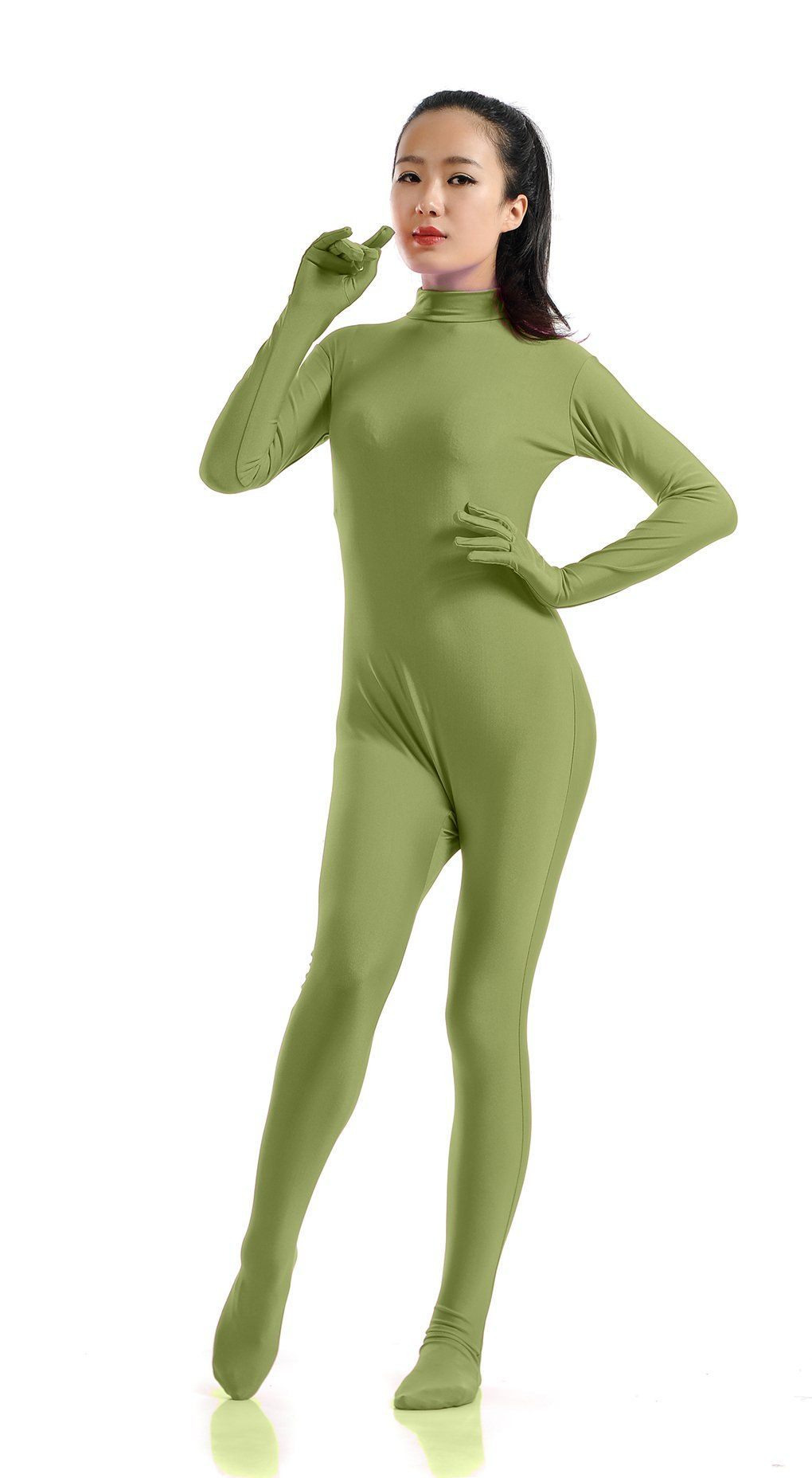 Full body spandex suit join