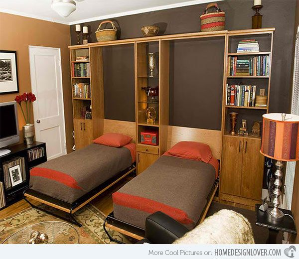 15 Space Saving Wall Beds For Small Bedrooms Twin Wall Bed