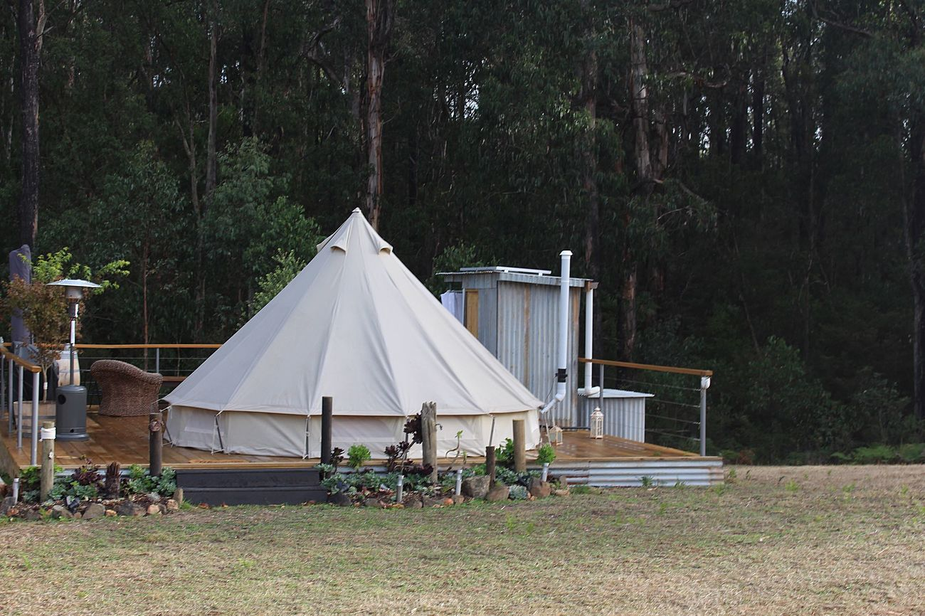 Misty Mountain Glamping Is An Off Grid Retreat Situated In The Kinglake Ranges Only One Hour From Melbourne Su Forest Adventure Temperate Rainforest Glamping