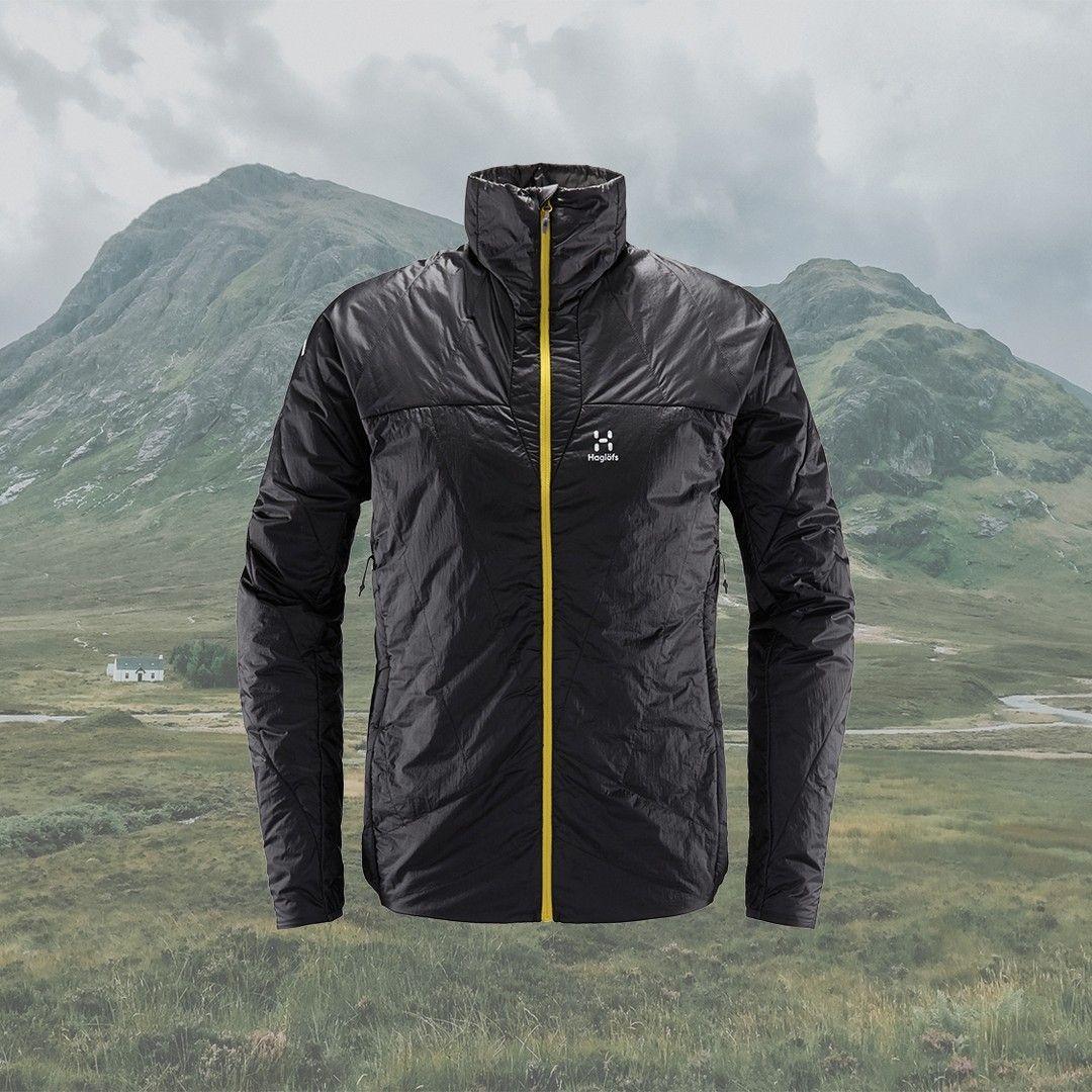 Het L I M Barrier Jacket Van Haglofs Is Een Gevoerde Jas Uit De Categorie Vedergewicht Hij Is Gevoerd Met Primaloft Gold Met C In 2020 Bomber Jacket Jackets Fashion