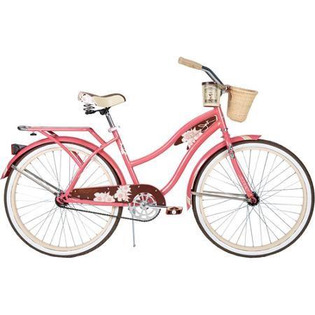 Gloss Blue 26 Huffy Nel Lusso Womens Cruiser Bike