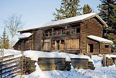 Traditional Swedish House In Skansen Stockholm Scandinavian - Traditional swedish homes