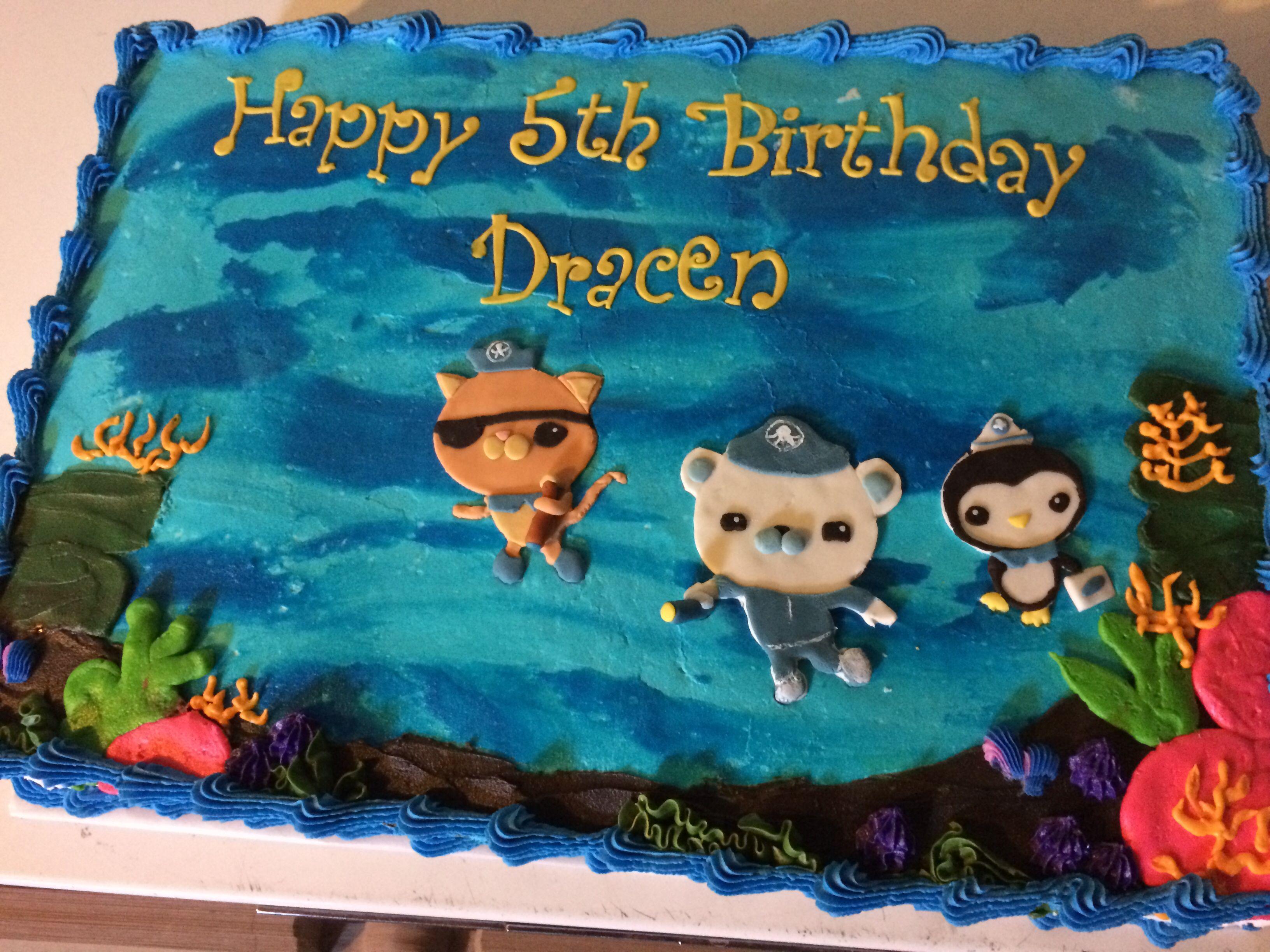 Octonauts sheet cake My cakes Pinterest Birthday party ideas