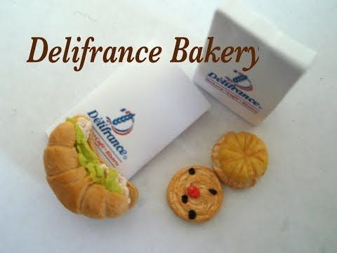 Miniature Bakery Croissant and Pastries - YouTube