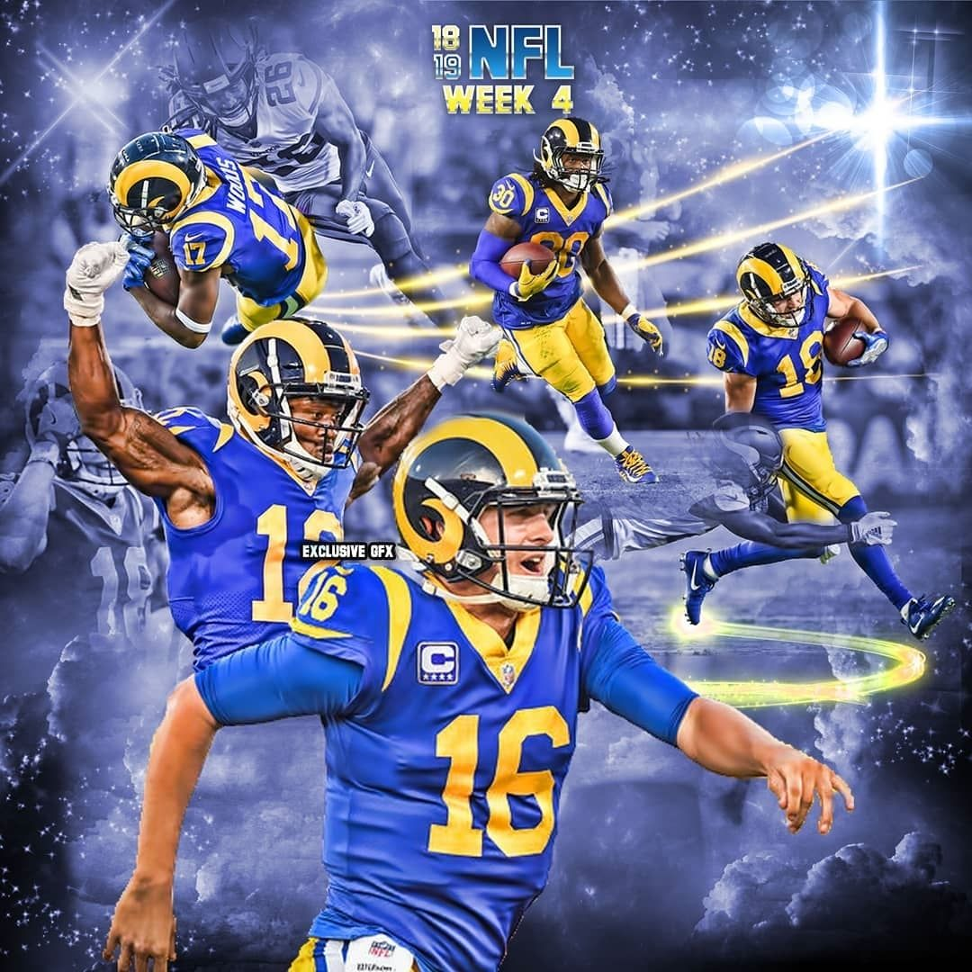 Los Angeles Rams 31 Minnesota Vikings 1 2 1 38 Los Angeles Rams 4 0 Jared Goff 26 33 465 Yds 5 Tds 0 Int Jared Goff Los Angeles Rams Minnesota Vikings