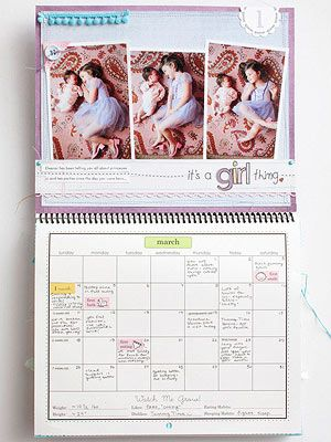 Baby S First Year Calendar MEMORIES CAPTURED Baby Babies