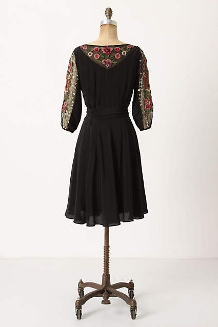 Embroidered Mirabilis Dress - anthropologie.com