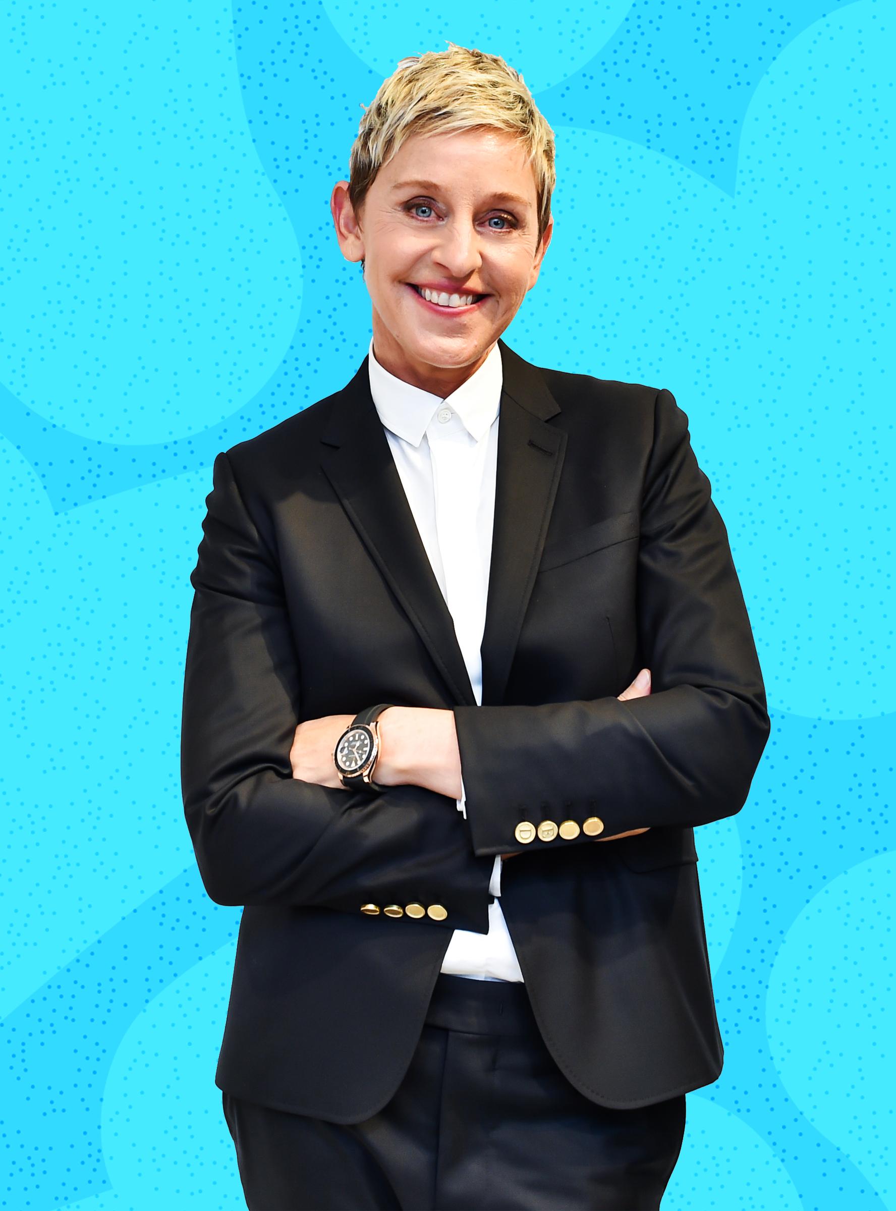 20 Of Ellen Degeneres Greatest Moments Ever Refinery29 Ellen And Portia Ellen Degeneres Ellen Degeneres Birthday