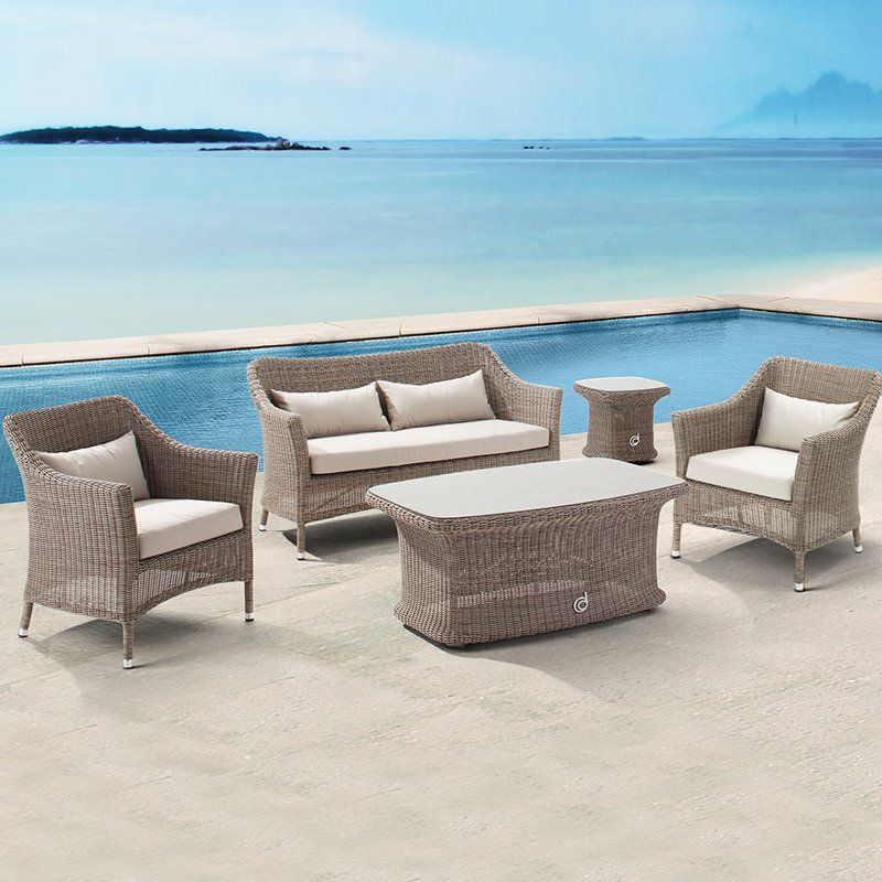 Domus Ventures Bonassola Conversation Set - Seats 4 - Conversation Patio  Sets at Hayneedle - Domus Ventures Bonassola Conversation Set - Seats 4 - Conversation