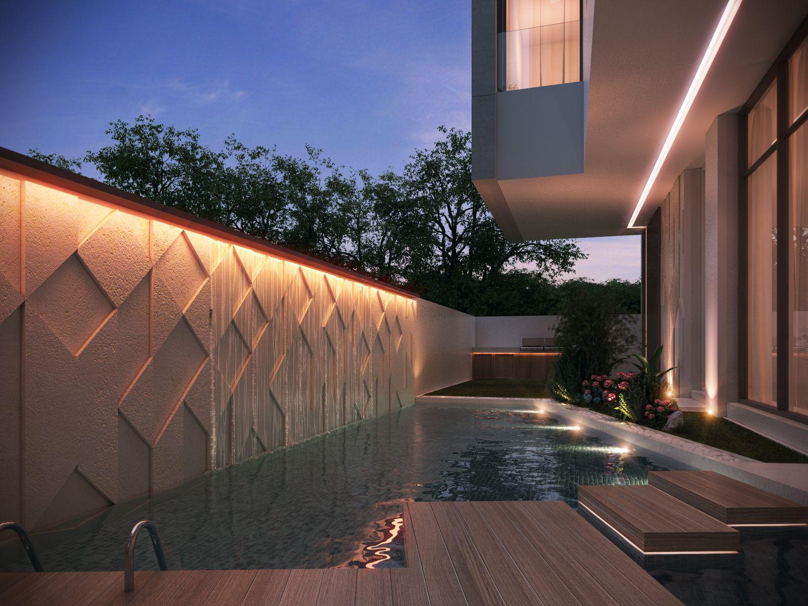 private villa 400 m kuwait by sarah sadeq architects