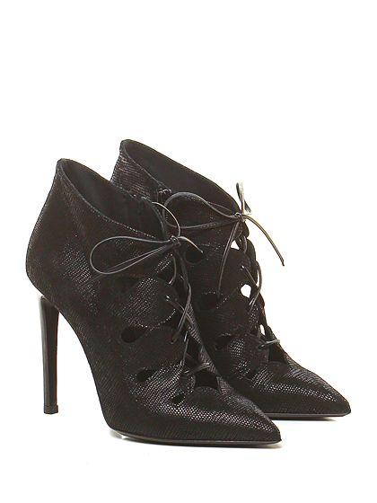 GIANCARLO PAOLI - Scarpa con tacco - Donna - Scarpa con tacco in pelle stampa…