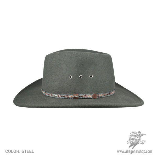 27d8dac6f64 Elkhorn Wool Felt Western Hat