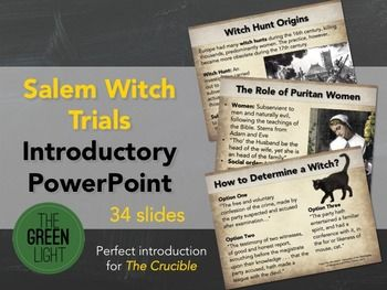 m witch trials introductory powerpoint the crucible   m witch trials introductory powerpoint the crucible