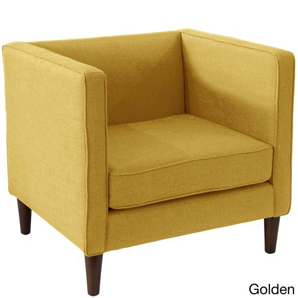 Skyline Furniture Zuma Linen Fabric Modern Accent Chair Walmart Com In 2020 Modern Accent Chair Cheap Leather Chairs Accent Chairs