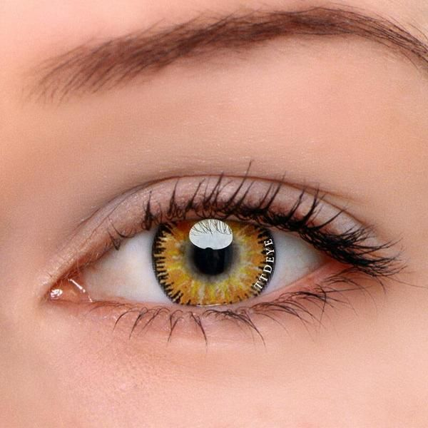 TTDeye Mystery Yellow Colored Contact Lenses #coloredeyecontacts