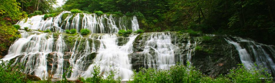 Egypt Falls Aka Pipers Glenn Cape Breton Beautiful Waterfalls Inverness Dream Destinations