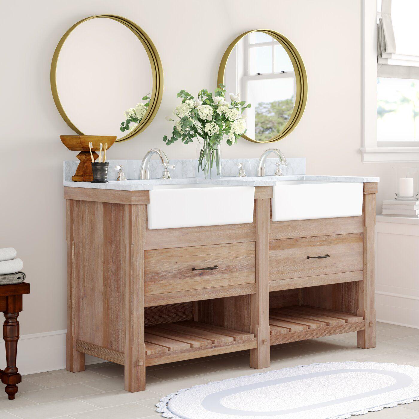Kordell 60 Double Bathroom Vanity Double Vanity Bathroom Bathroom Vanity Vanity