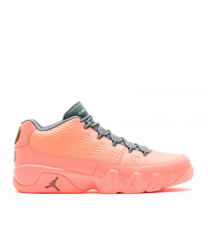 air jordan 9 retro low bright mango hasta ghost green 832822 805