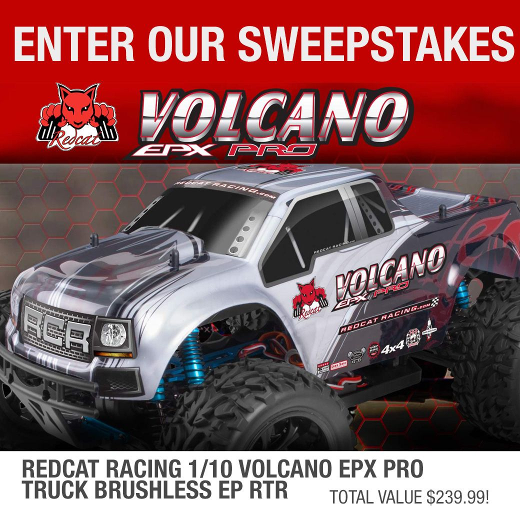 Help me win this Redcat Racing Volcano EPX Pro from