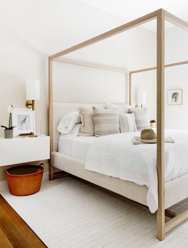 Modern Bedroom in Bridgehampton, NY by Timothy Godbold   Headboard ...