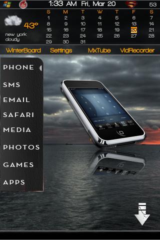 Winterboard   iPhone Jailbreak   Iphone, Phone, Blackberry