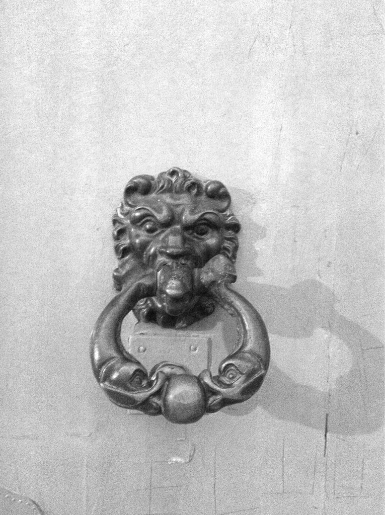 Spanish door knocker