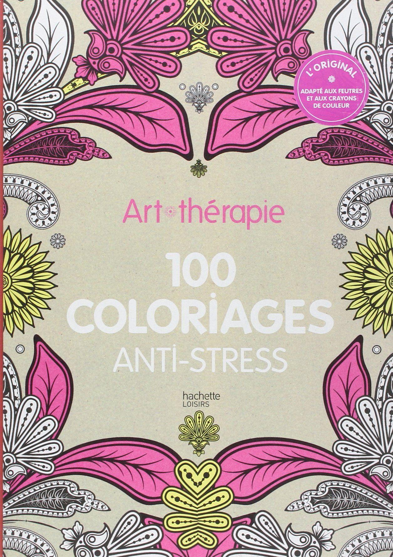 Art-thérapie : 100 coloriages anti-stress: Amazon.de: Collectif: Fremdsprachige Bücher