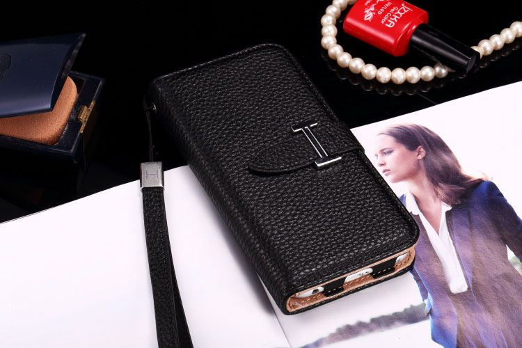 Buy Designer hermes iphone 6/6S Leather Case Cover Black