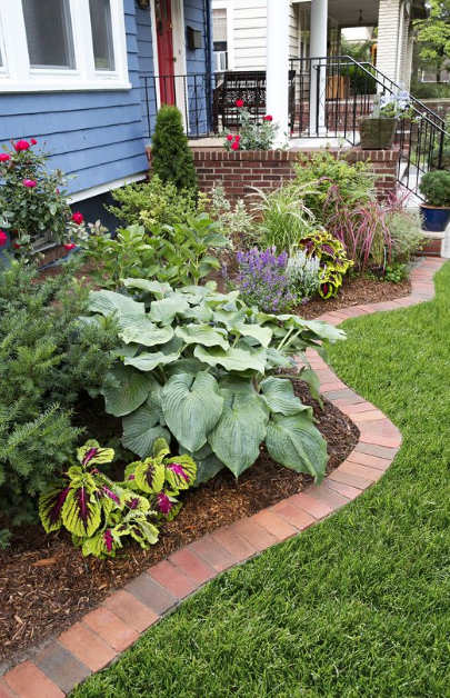 20 minimalist and small frontyard landscaping ideas on beautiful front yard rock n flowers garden landscaping ideas how to create it id=52989