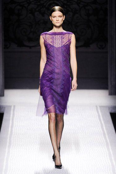 THE BEST LOOKS FROM MILAN FASHION Alberta Ferretti FALL 2012