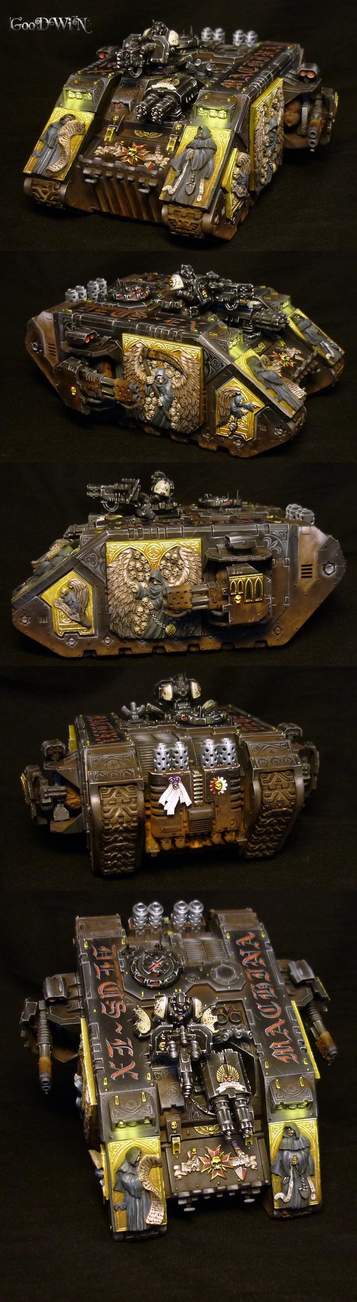 CoolMiniOrNot - Black Templars Land Raider by lordNicon