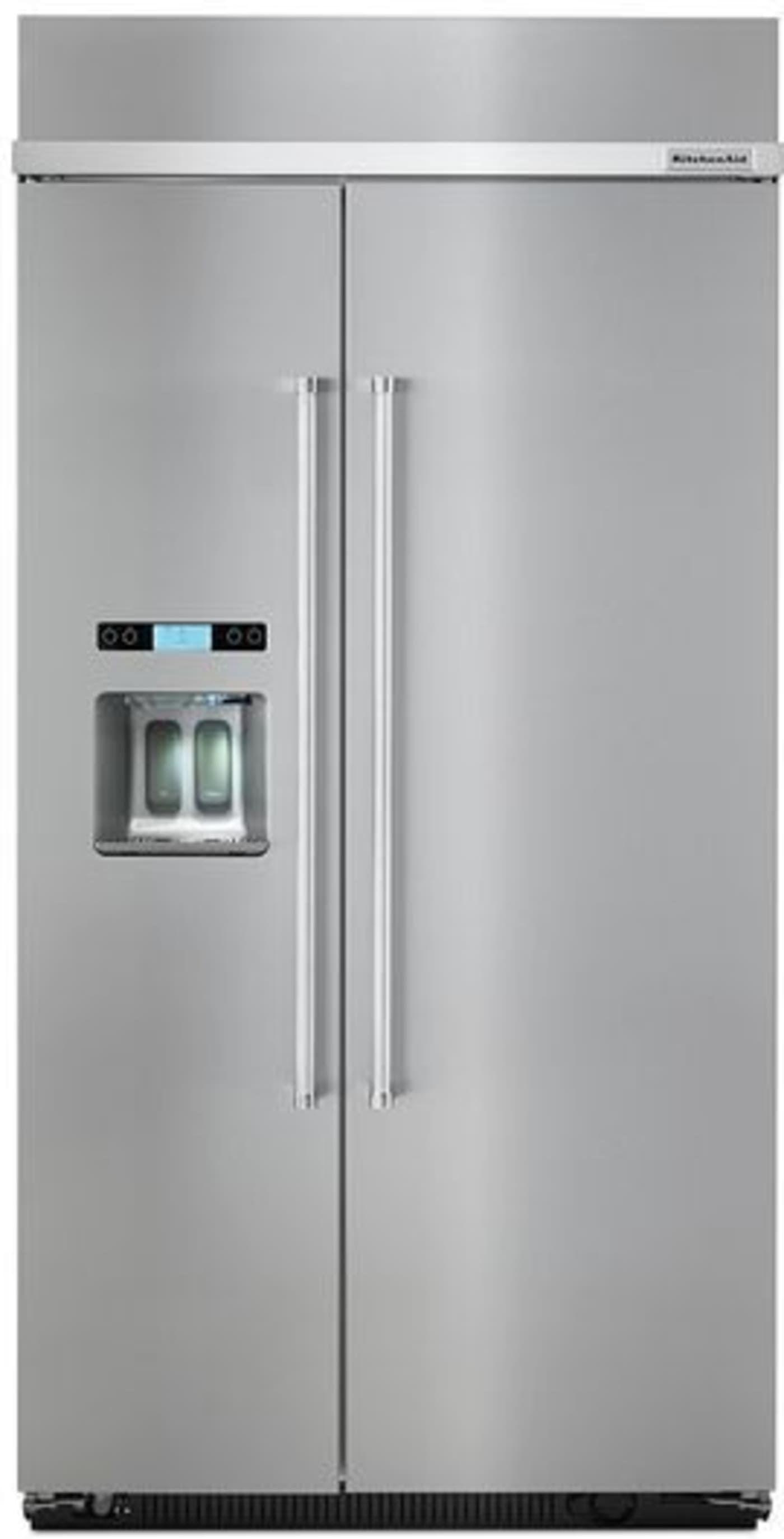 Kbsd612ess by kitchenaid sidebyside refrigerators
