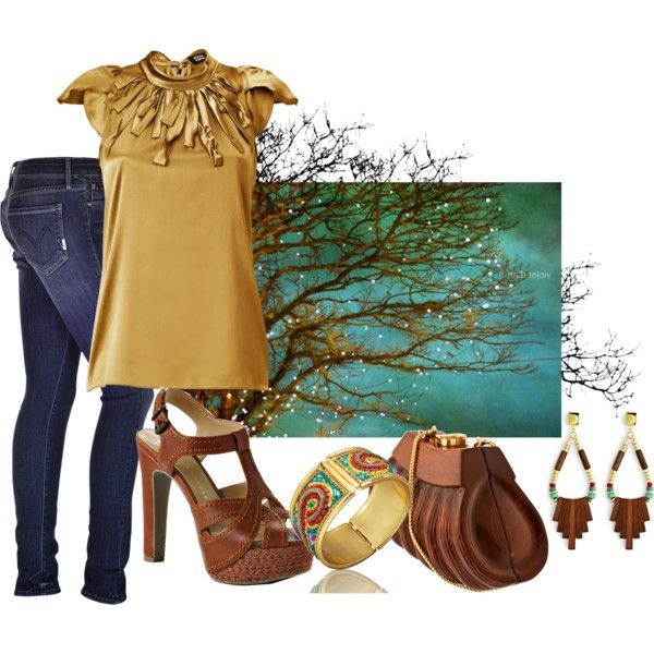 Natural Elements, created by lisa-craigo on Polyvore