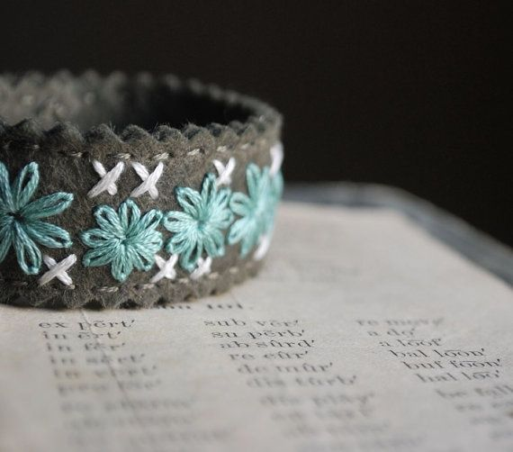 vilten armband