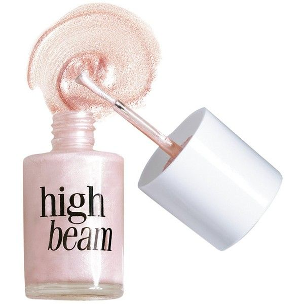 Benefit Cosmetics High Beam (FULL SIZE .45 oz) (€52) ❤ liked on Polyvore featuring beauty products, makeup, nails, cosmetics, nail polish and filler