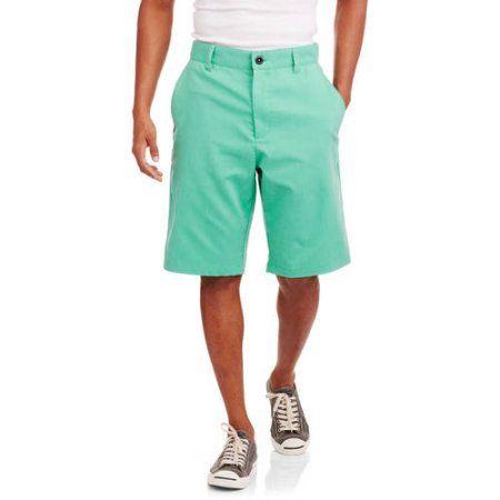Faded Glory Men's Walk Shorts, Size: 34, Green