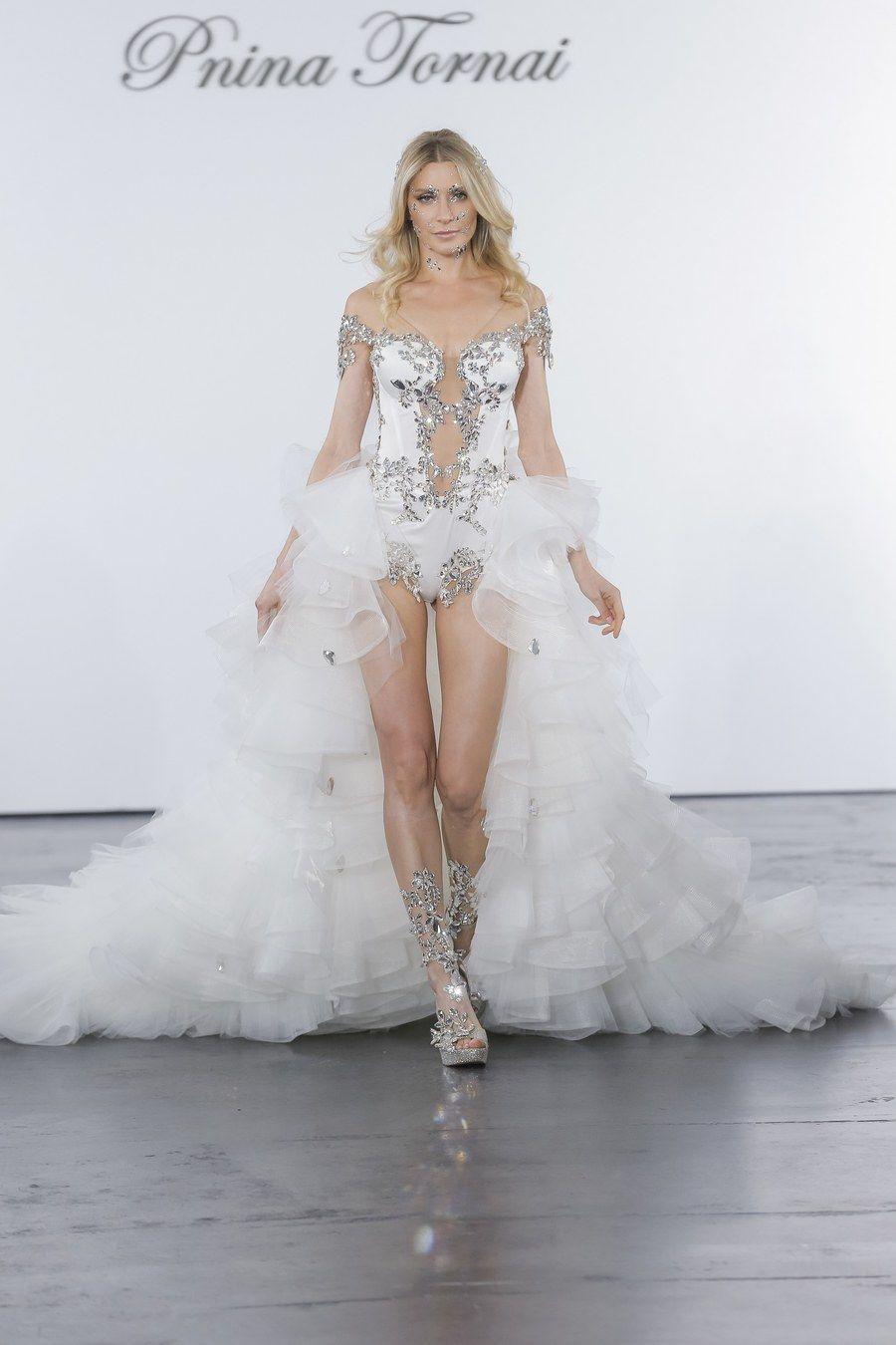 Wedding dress by pnina tornai for kleinfeld wattpad in
