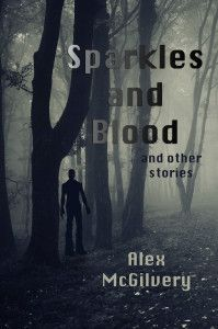Sparkles and Blood and other stories - My newest book Sparkles and Blood is a collection of four of my horror novellas, including a never before published story. From carnivorous frogs to a post-apocalyptic Beowulf, from the meeting of movie vampire with the real things to a teen at a Christian school who learns she's a witch, these are stories that may chill you, but not cover you with gore.