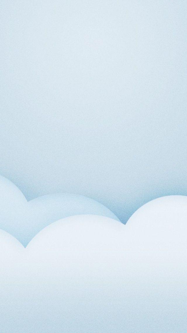 640x1136 Light Blue Minimalistic Clouds Iphone 5 Wallpaper Blue Wallpaper Iphone Minimalist Iphone Minimalist Wallpaper