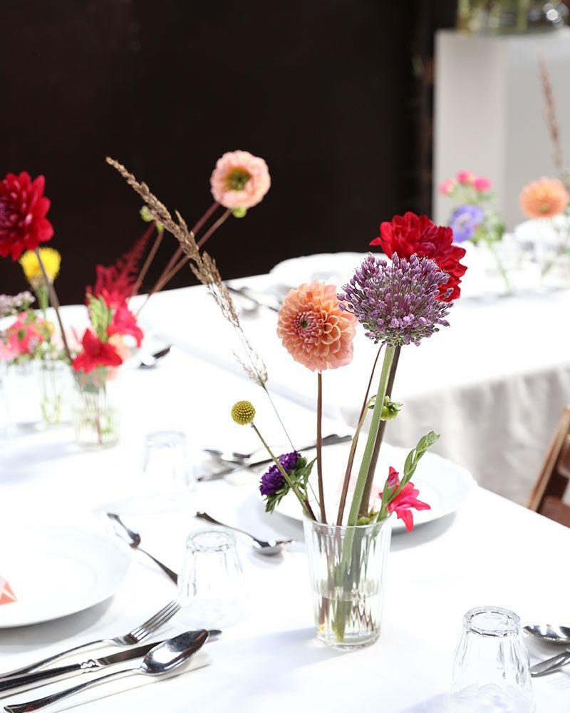 Table Wedding 2 Verse Bloemen Tafeldecoratie Tafelschikking