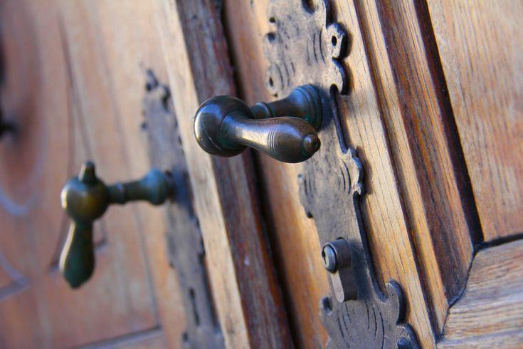 vintage design, decoration, old wooden door- vintage design,…