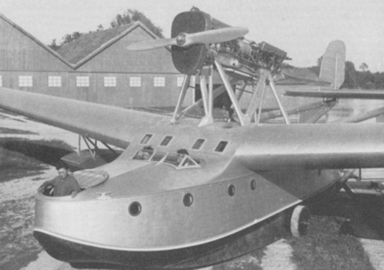 S.N.A.C. NC.420 flying boat.
