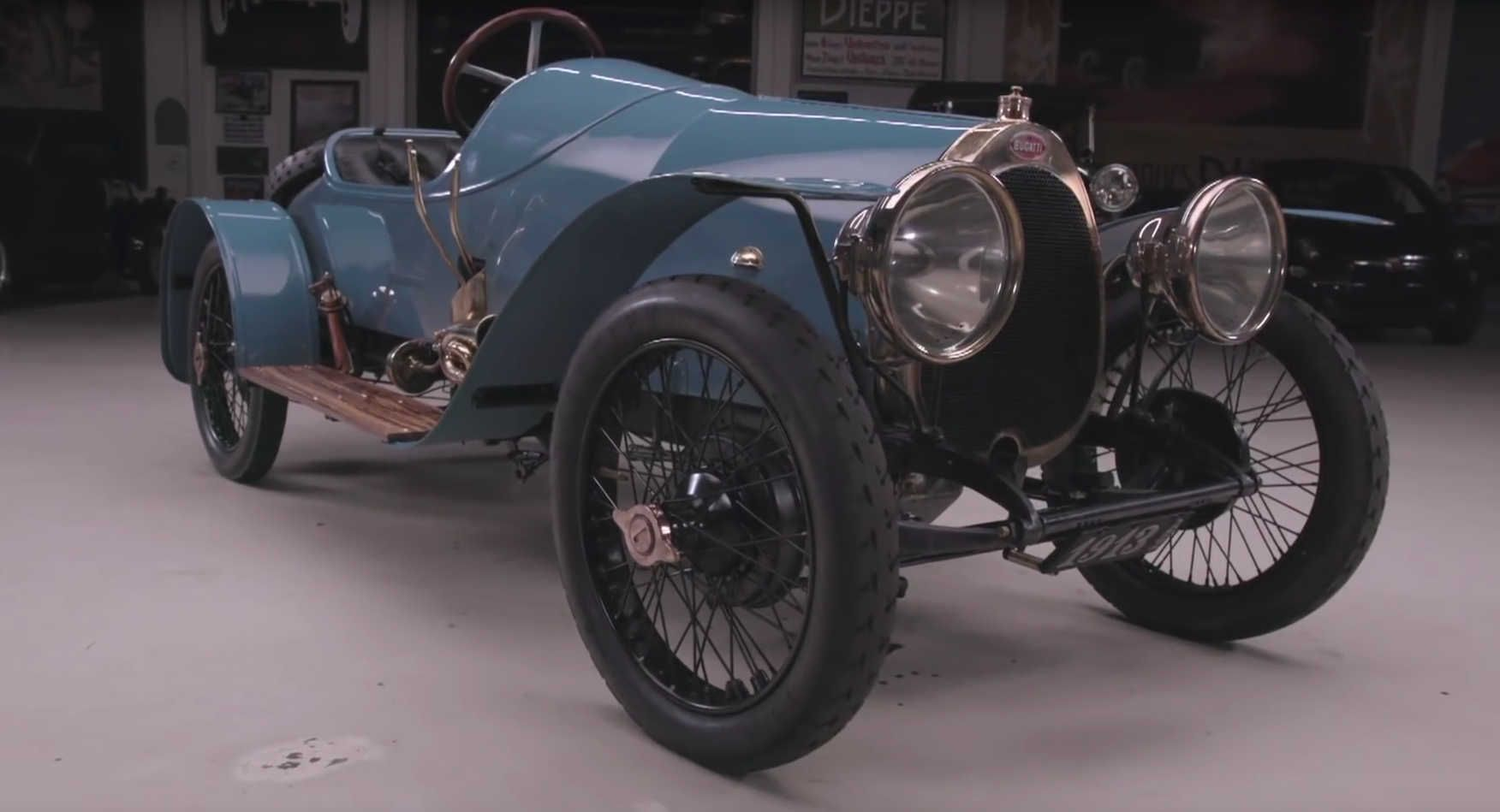 Jay Leno Drives The World\'s Oldest Running Bugatti #news #Bugatti ...