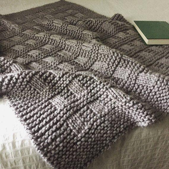 Blanket Knitting Pattern Westport Blanket Throw