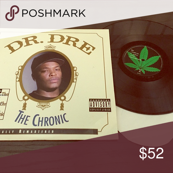 Dr. Dre The Chronic album vinyl record (With images